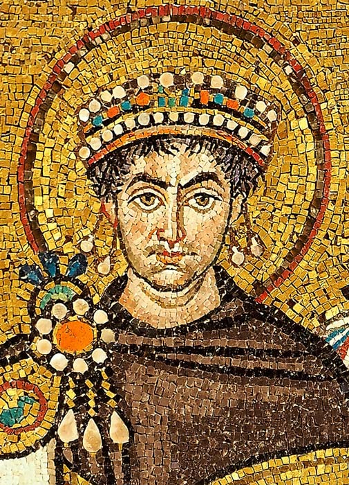 Emperor Justinian I set up a commission to review the entire body of Roman law, resulting in the Corpus Juris Civilis. (Petar Milošević / CC BY-SA 4.0