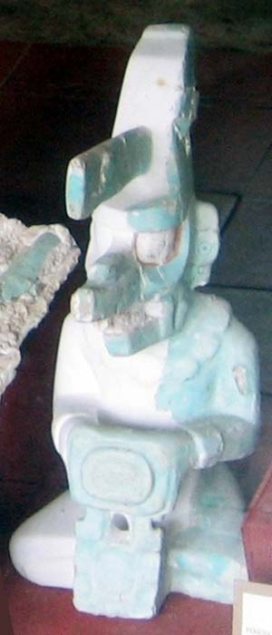 K'awiil effigy from Tikal