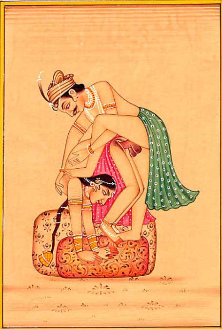 Kama Sutra Illustration.