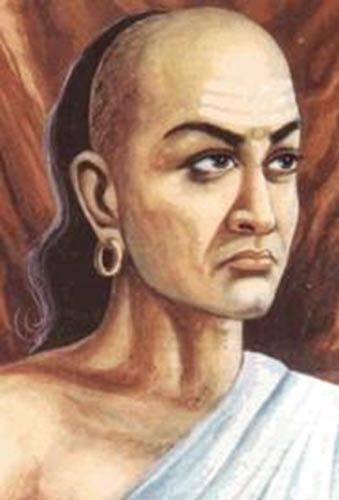 Artistic depiction of Kautilya.
