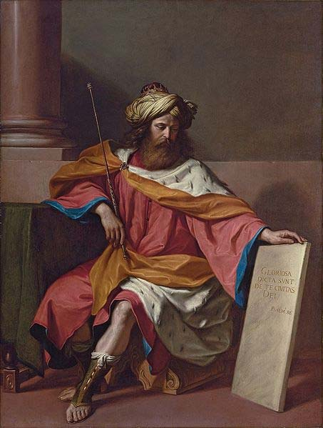 King David by Giovanni Francesco Barbieri, 1768. (Public Domain)