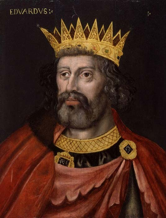 King Edward II, by an unknown artist (National Portrait Gallery / Public Domain)