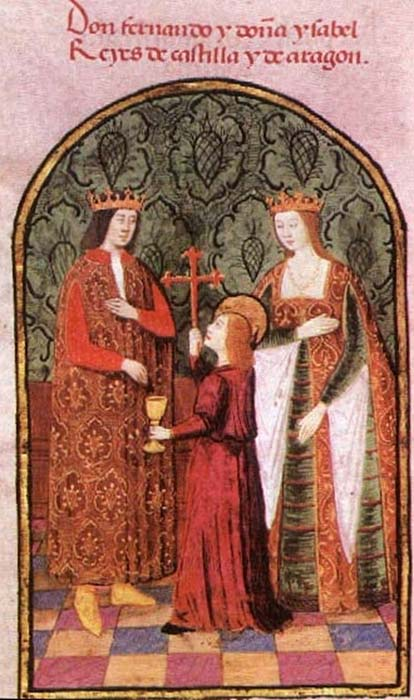 King Ferdinand II of Aragón and Queen Isabella of Castile. (Public Domain)