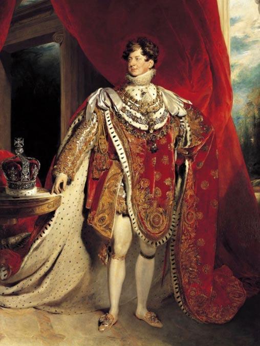 King George IV.
