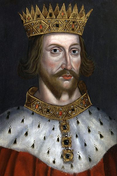 King Henry II by unknown artist.