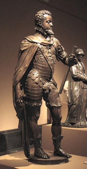 Statue of King Philip II of Spain.
