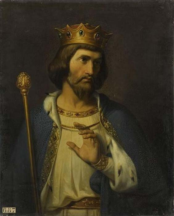 'King Robert II of France' (1837) by Merry-Joseph Blondel. (Public Domain)