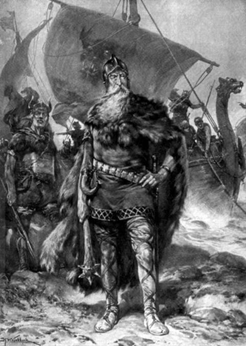 King Rorik, son of Hother by Hermanus Willem Koekoek (Public Domain)