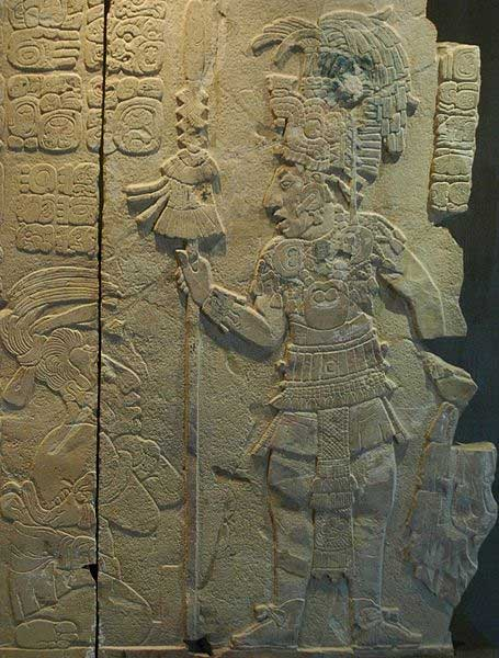King and captive from Tonina (the king is probably K'inich Kan Balam II). Sculpture from Temple 17 at Palenque, Chiapas, Mexico. Museo del Sitio. (CC BY SA 2.0) The Maya revered their divine rulers after death.