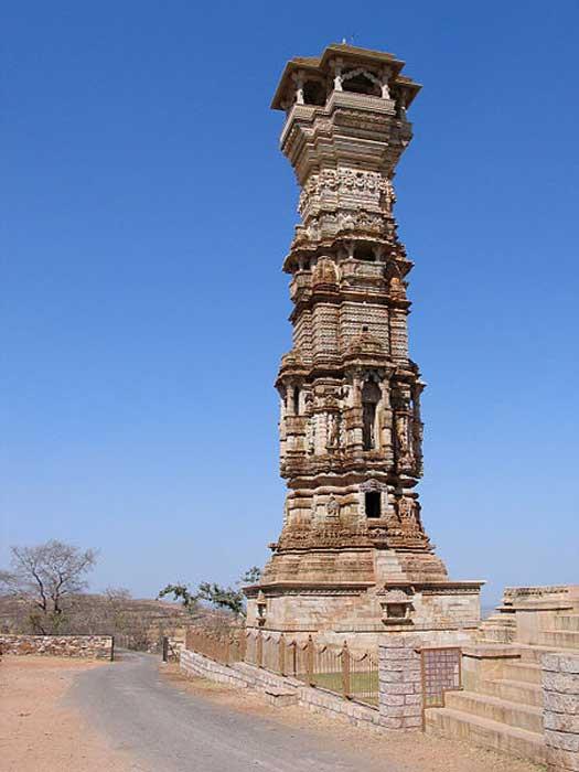 Kirti Stambha, Chittorgarh, Rajasthan, India.