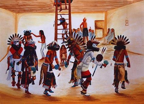 Kiva Kachina Dance