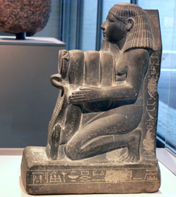Exodus: Were the Israelites Slaves in Egypt or Not? Kneeling-statue-of-Senenmut--