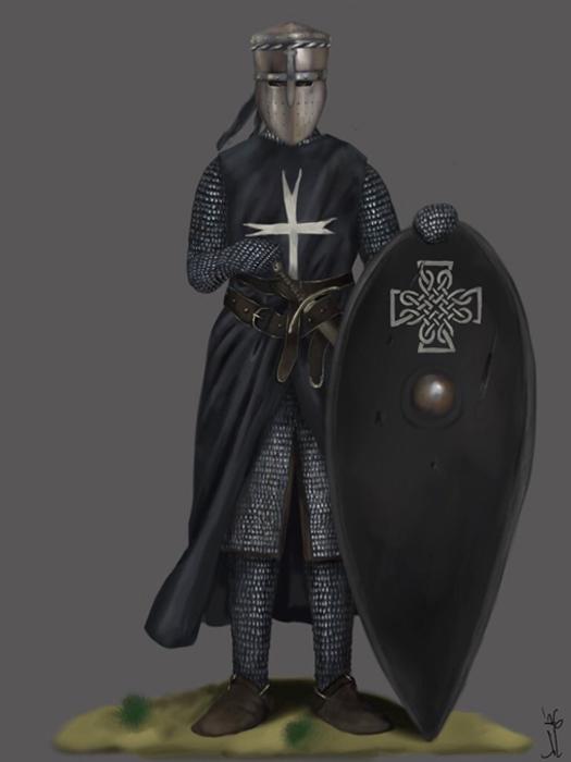 Knight Hospitaller of Saint John. (JLazarusEB/Deviant Art)