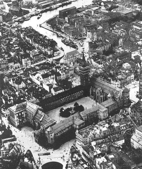 Königsberg Castle, 1925.