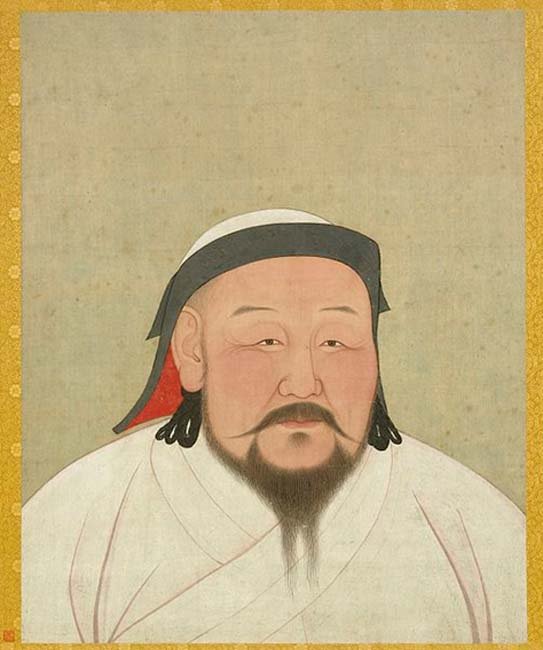 Kublai Khan, founder of the Yuan dynasty.