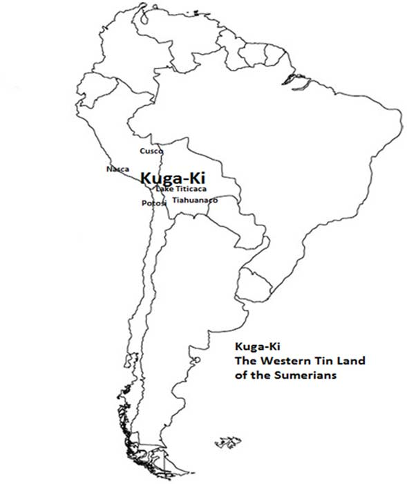 Kuga-Ki, The western Tin Land of the Sumerians