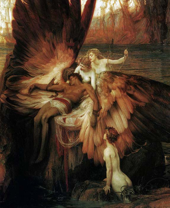 'The Lament for Icarus' by H J Draper