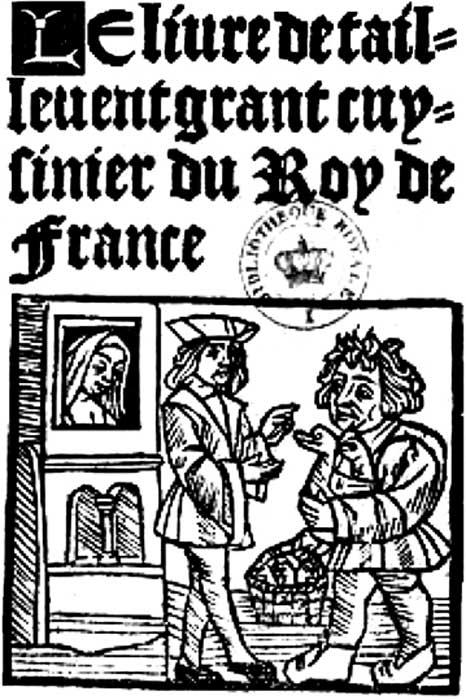 Le Viandier de Taillevant, from a 15th-century edition.