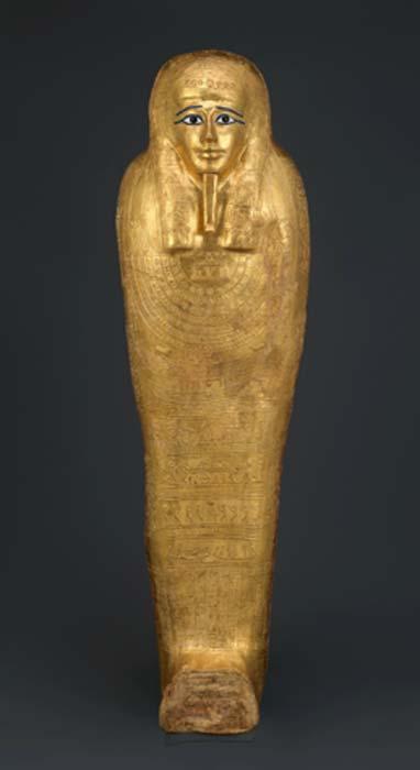Lid of the coffin of Nedjemankh, priest of Heyrshef, 150-50 BC. (Metropolitan Museum of Art / CC0)
