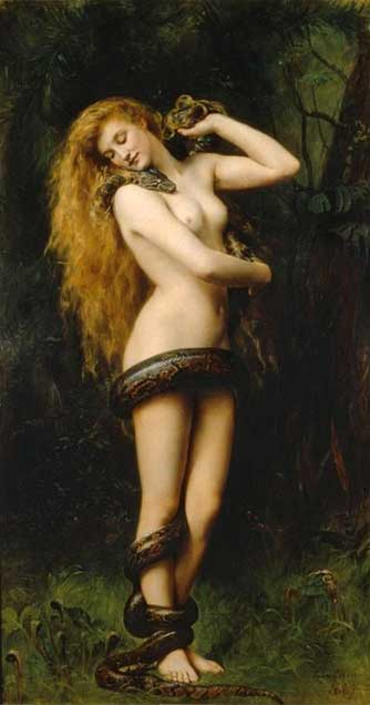 Lilith, by John Collier, 1887.