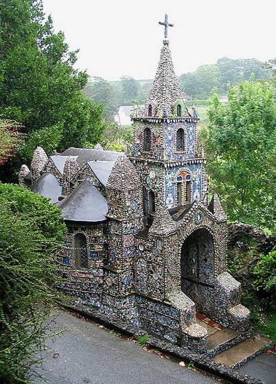 The Little Chapel of Guernsey.