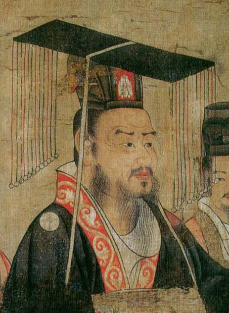 Liu Bei, from Thirteen Emperors Scroll, 7th century