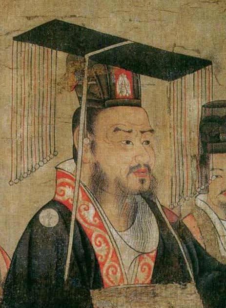 Liu Bei, from Thirteen Emperors Scroll, 7th century