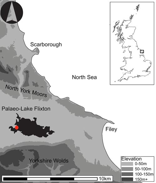 Location map of Star Carr.
