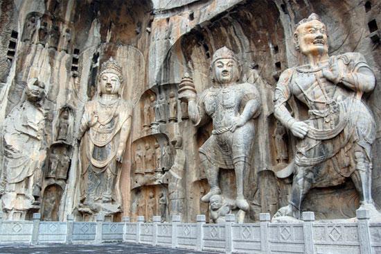 Longmen Grottoes carvings