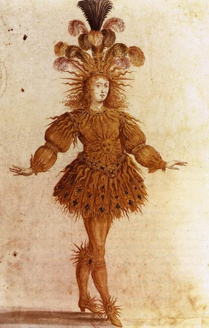 Louis XIV in Lully's Ballet de la nuit (1653).