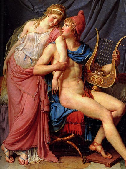The Love of Helen and Paris, Jacques-Louis David (1788) (Wikimedia Commons)