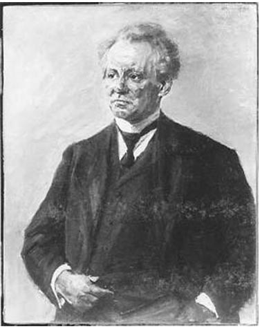 Portrait of Ludwig Borchardt.