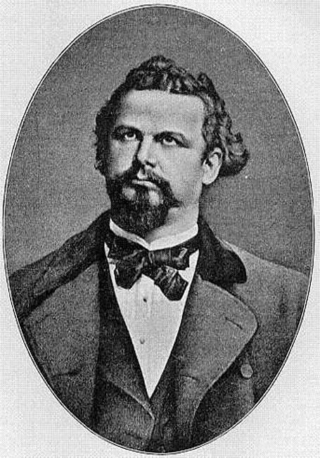 Portrait of Ludwig II in 1882.