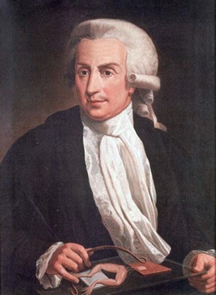 Luigi Galvani (1737-1798) (Public Domain)