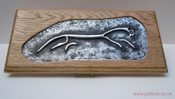 Uffington Silver Wall Plaque
