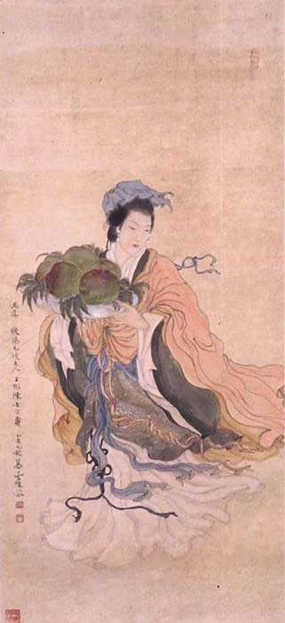 Magu, the goddess of hemp.