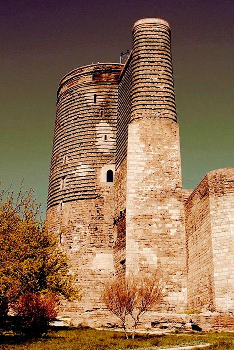 The Maiden's Tower, Baku, Azerbaijan.