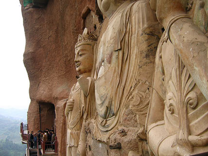 Maijishan Sculptures