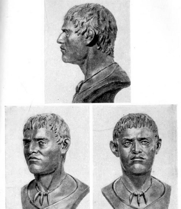 Man, from Yamnaya culture, sculptural reconstruction. (Math920 / Public Domain)