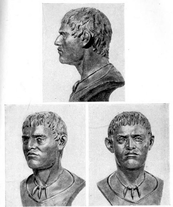 Man from Yamnaya culture, sculptural reconstruction (c. 1930s). (Public Domain)