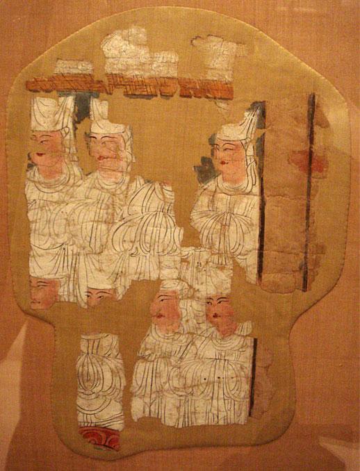 10th century Manichaean Electae in Gaochang (Khocho), China.