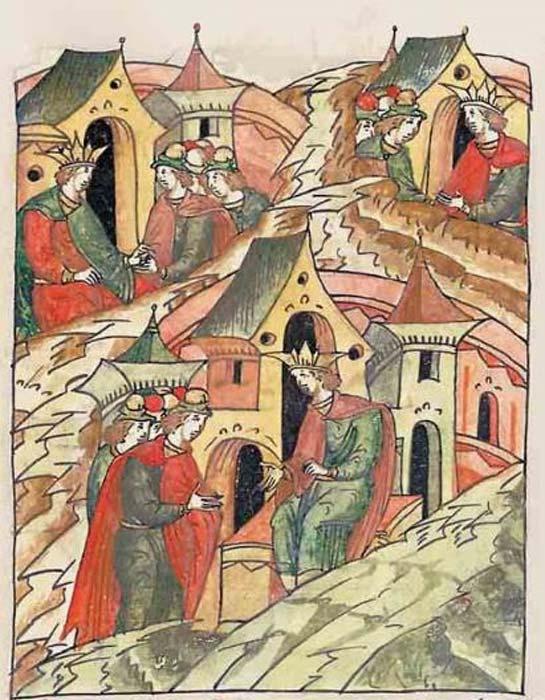 Manuel I Komnenos, Alexios II Komnenos, Andronikos I Komnenos. (Public Domain)