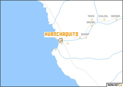 Map of Huanchaquito