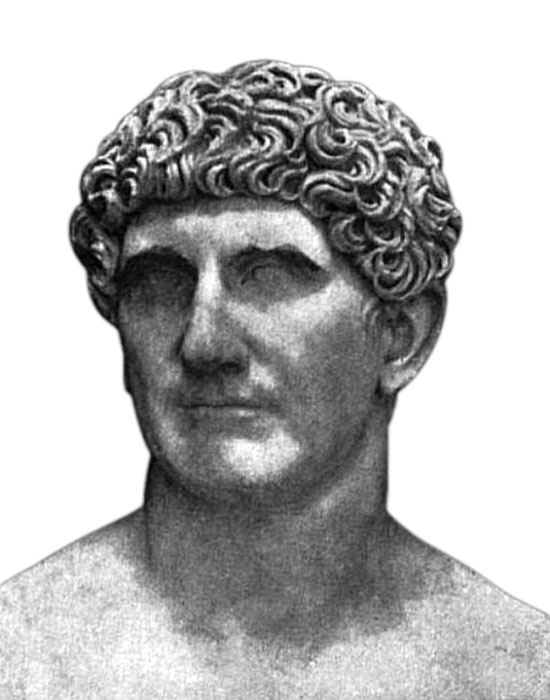 Bust of Marc Antony.
