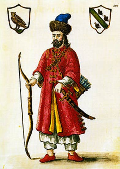 Marco Polo in a Tatar outfit.