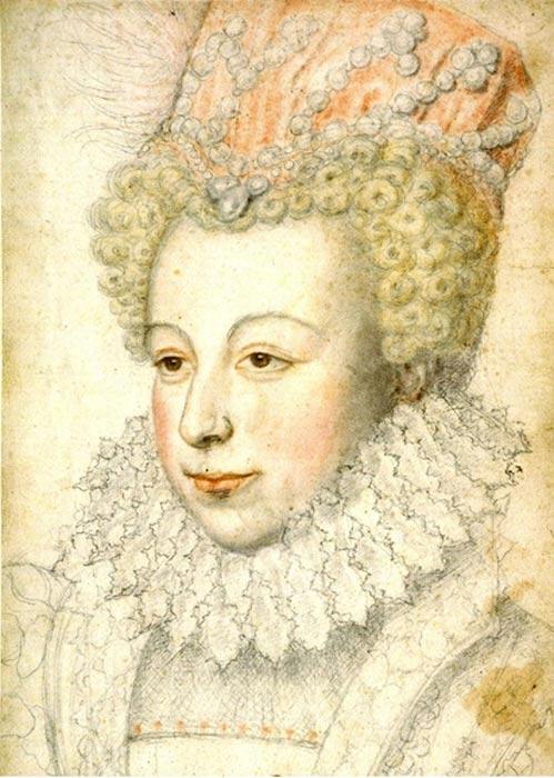 Margaret of Valois, by François Clouet.