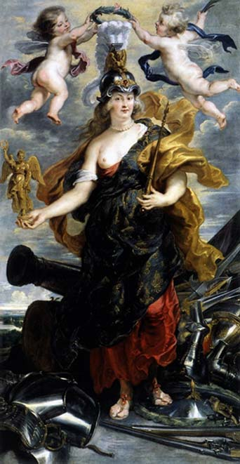 Marie de Medicis as Bellona, by Peter Paul Rubens, c. 1621.