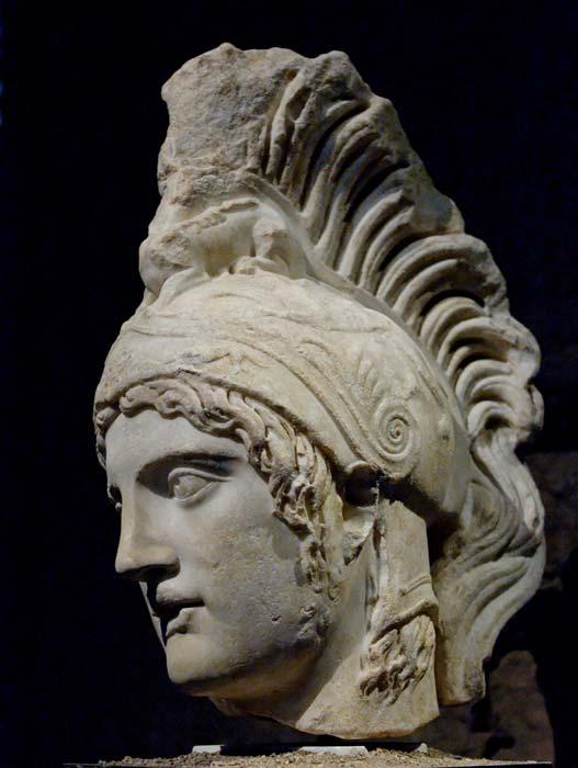 The ancient Greeks associated Mars with their god of war, Ares. (Public domain)