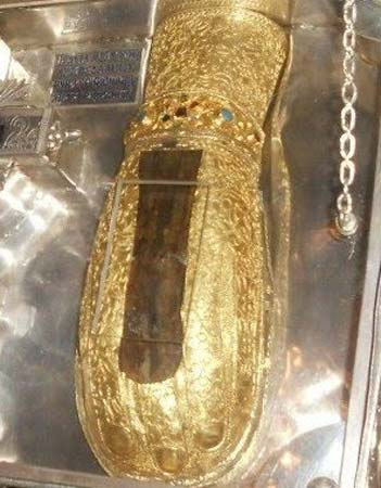 The Mary Magdalene hand relic.