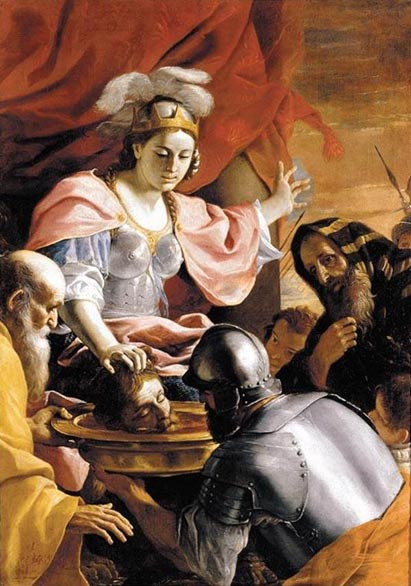 Mattia Preti, Tomyris Receiving the Head of Cyrus, 1670-72.